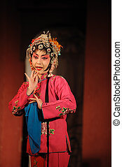 china opera Water MarginWulong Yuan, one of the fold Yan...
