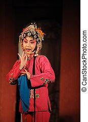"""china opera Water Margin.\""""Wulong Yuan,\"""" one of the fold...."""