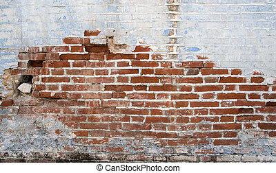 Colorful brick wall background
