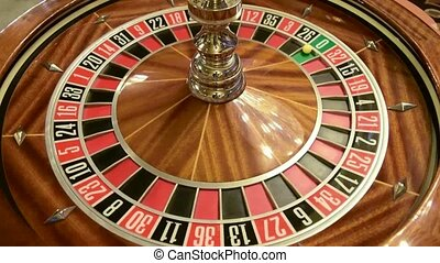 roulette wheel spinning details