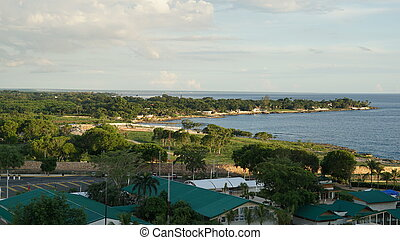 La Romana in the Dominican Republic - View of La Romana in...