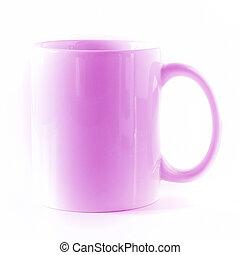 Fuchsia mug