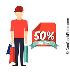 shopping people design