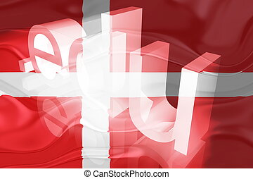 Flag of Denmark wavy education - Flag of Denmark, national...