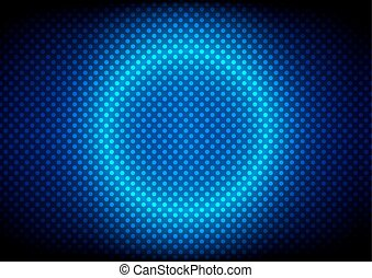 abstract Dotted pattern background. Vector Illustration.