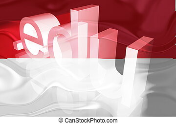 Flag of Indonesia wavy education - Flag of Indonesia,...