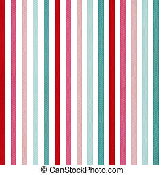 Background with colorful pink, red and cyan stripes