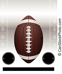Vector American Football Party - An American Football flyer...