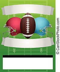 Vector American Football Party - American football party...