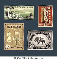 Postage stamps 2