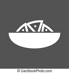 Nachos, chips, cheese icon vector image Can also be used for...