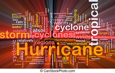 Hurrican weather background concept glowing - Background...