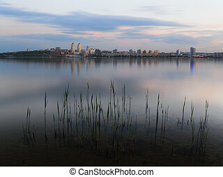 Twilight Dnipropetrovsk - Twighlight in the Dnipropetrovsk...