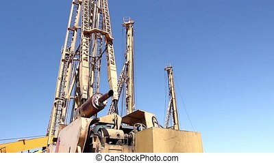 Drilling machines towers - Towers of drilling machines are...