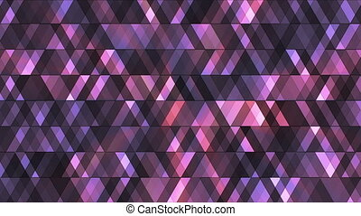 Broadcast Twinkling Hi-Tech Diamonds, Purple, Abstract, Loopable, HD