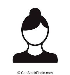 Business avatars woman