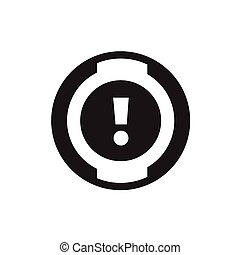 car dashboard icon