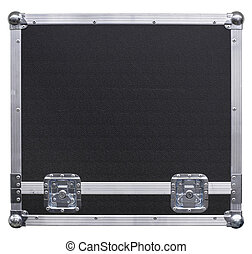 Equipment crate background - A background isolated image of...