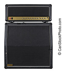 Guitar amplifier combo - Photograph of the front of a combo...