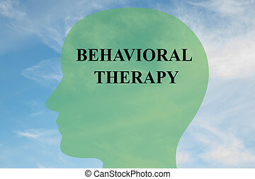 Behavioral Therapy concept - Render illustration of...