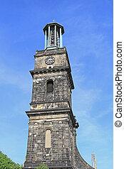 Aegidienkirche Hannover - The Aegidienkirche Tower Ruins War...