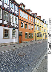 Colourful Houses Hanover - Colorful Medieval Houses in...