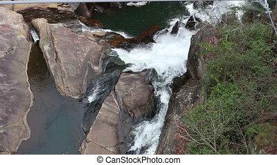 Waterfall Georgia US Six - United States Sautee Georgia...