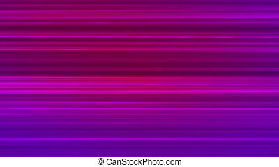Broadcast Horizontal Hi-Tech Lines, Purple, Abstract, Loopable, HD