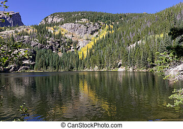 Autumn at Bear Lake in Rocky Mountain National Park