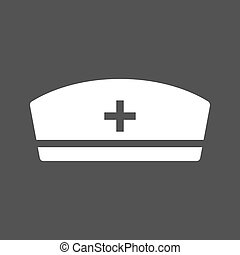 Nurse cap Stock Illustrations. 985 Nurse cap clip art images and ...