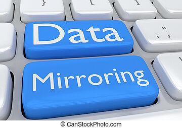 begriff, Daten, widerspiegelnd