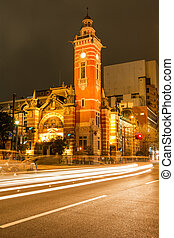 Historical building - Yokohama port opening memorial hall in...