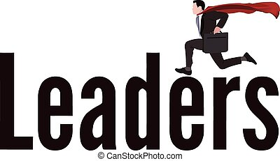 leading person with mantle - image symbol person leader with...