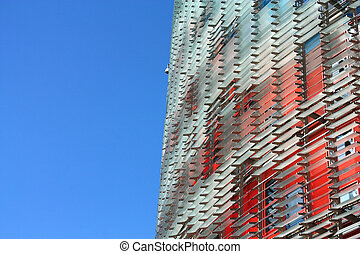 Agbar Tower (Torre Agbar in Spanish) - Skyscrapers in...