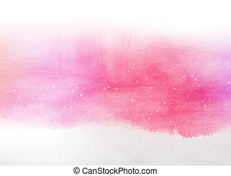 Abstract colorful water color for background. Digital art...