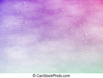 bstract colorful watercolor for background. Digital art...