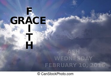 2016 ash wednesday date - faith and grace meet on ash...