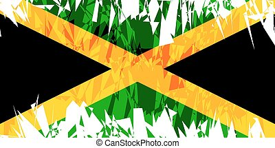 Flag of Jamaica.