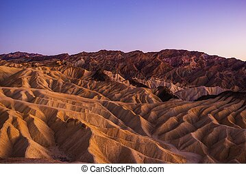 Death Valley Scenic Landscape - Death Valley National Park...