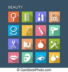 Beauty cosmetic icon