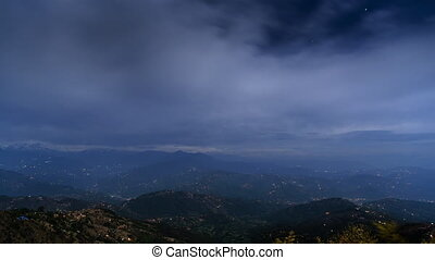 Nagarkot time-lapse cinemagraph - Night time-lapse view on...