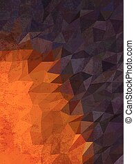 Two tone color of geometry background