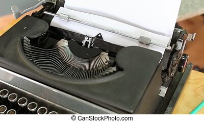 Made In USA - Made in USA, written by an antique typewriter