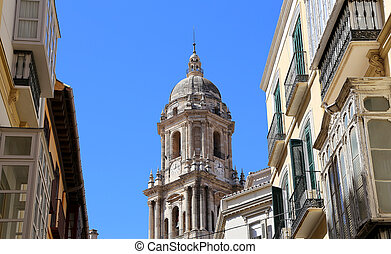 Cathedral of Malaga-- is a Renaissance church in the city of...