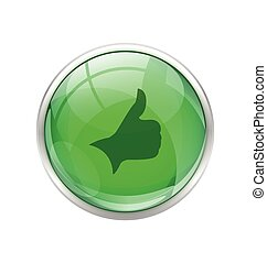Green right button