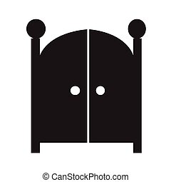 Front Gate Icon Illustration design