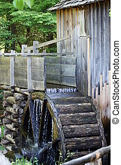 Watermill - Old watermill in Woods