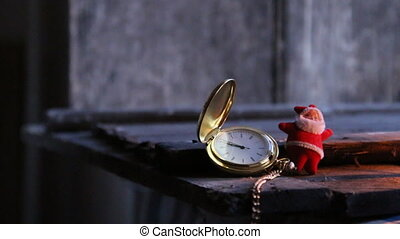 twelve o'clock idea. - twelve o'clock idea, Santa Claus and...