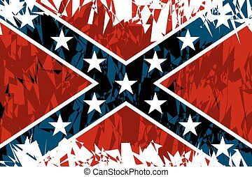 Confederate - National flag of the Confederate States of...