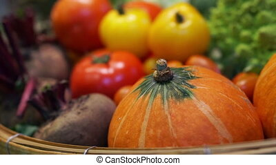 Fresh Vegetables, five colourful
